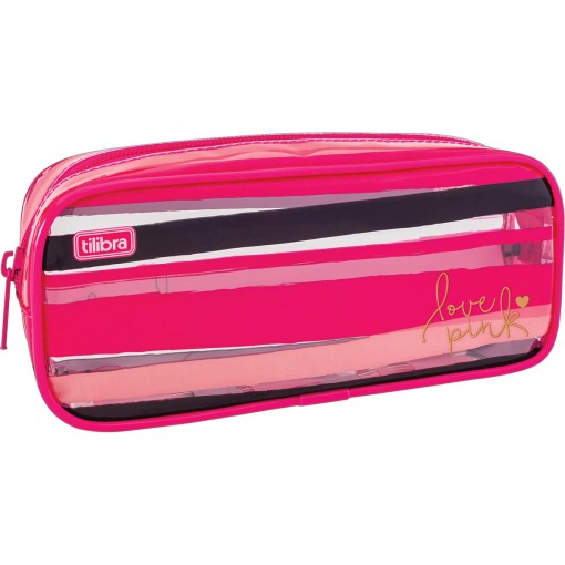 Estojo Grande Love Pink