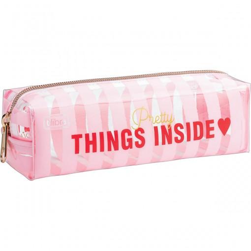 Estojo Médio Love Pink