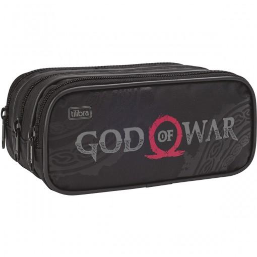 Estojo Triplo Grande God of War