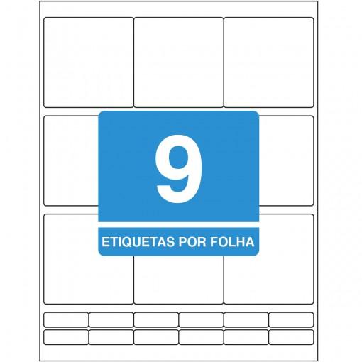 Etiqueta Adesiva Inkjet/Laser Carta 69,85mmx69,85mm TB8296 225 Unidades