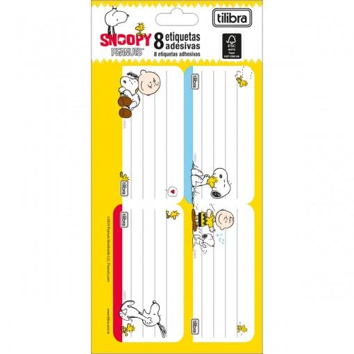Etiqueta Escolar Adesiva Snoopy