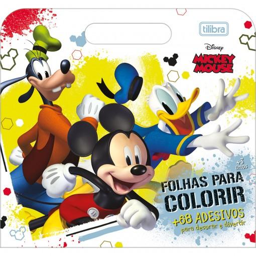 Folhas de Atividades Maleta Mickey 8 Folhas