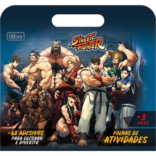 Folhas de Atividades Maleta Street Fighter 8 Folhas