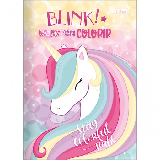 Folhas para Colorir Blink 8 Folhas