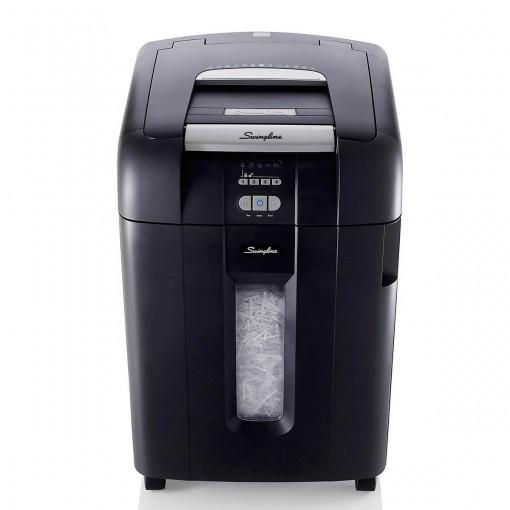 Fragmentadora 600 folhas Alimentação Automática Supercorte em Partículas 220V Swingline 600X