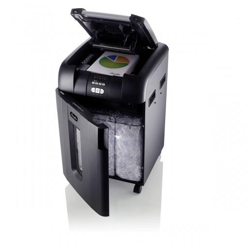 Fragmentadora 500 folhas Alimentação Automática Supercorte em Partículas 220V Swingline 500X