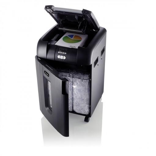 Fragmentadora 500 folhas Alimentação Automática Supercorte em Partículas 127V Swingline 500X