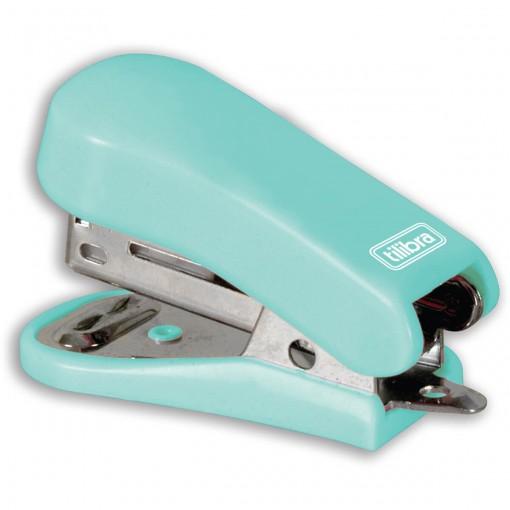 Grampeador 12 Folhas Mini com Extrator G101 Aqua