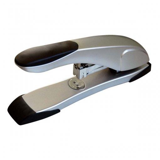 Grampeador 60 Folhas Metálico de Mesa G109 Cinza