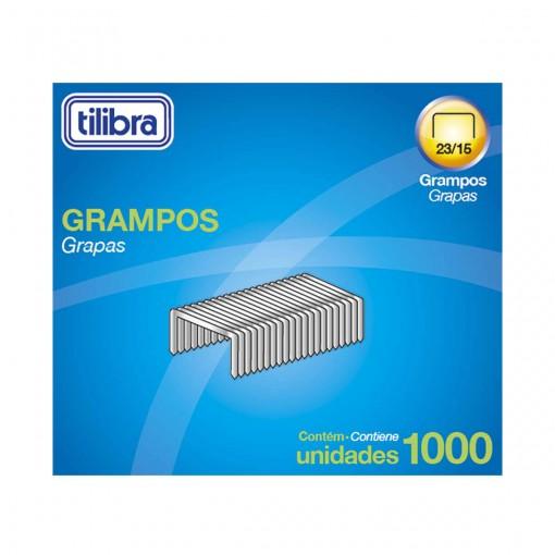 Grampo 23/15 75-120 Folhas Galvanizado 1000 Unidades