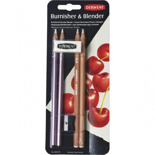 Lápis Blender e Burnisher Kit