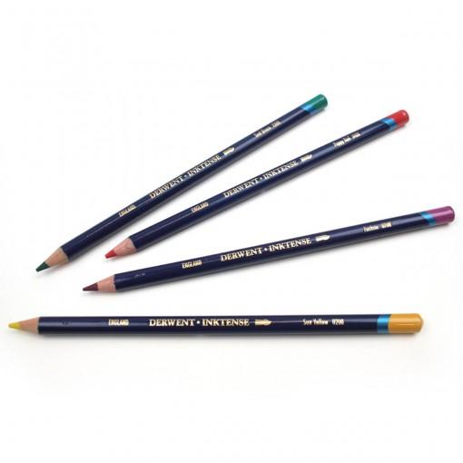 Lápis de Cor Aquarelável Inktense Unitário Charcoal Grey