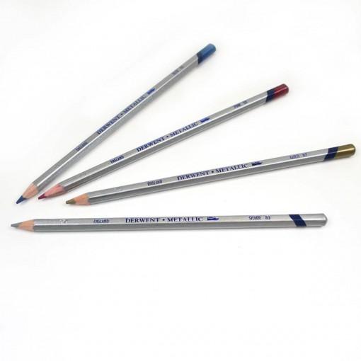Lápis de Cor Aquarelável Metallic Unitário Green