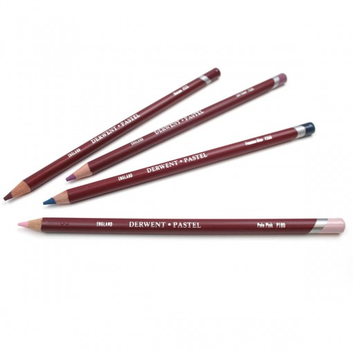 Lápis de Cor Pastel Unitário Cadmium Red