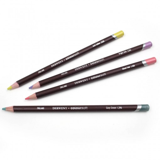 Lápis de Cor Permanente Coloursoft Unitário Acid Yellow