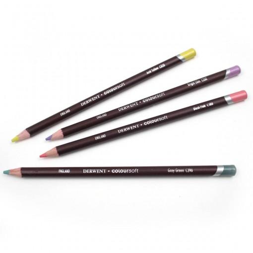 Lápis de Cor Permanente Coloursoft Unitário Deep Fuchsia