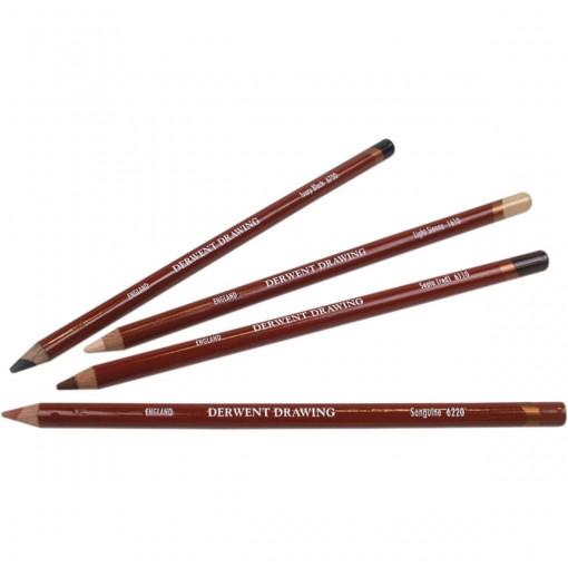 Lápis de Cor Permanente Drawing Unitário Ivory Black