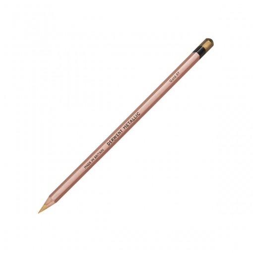 Lápis de Cor Permanente Metallic Unitário Gold