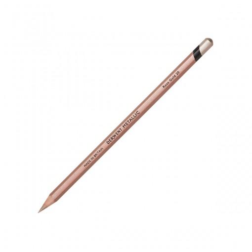Lápis de Cor Permanente Metallic Unitário Rose Gold