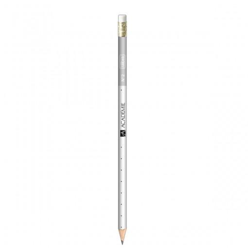 Lápis Preto Redondo com Borracha N.2 Académie (Caixa com 72 unidades)