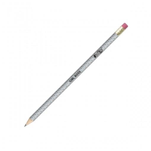 Lápis Preto Redondo com Borracha N.2 Capricho (Caixa com 72 unidades)