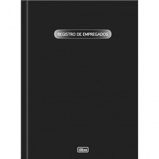 Livro Registro de Empregados Capa Dura - 100 Folhas