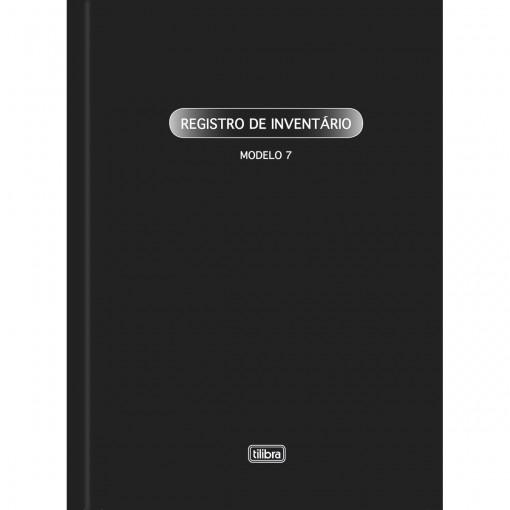 Livro Registro de Inventário Capa Dura Modelo 7 - 50 Folhas