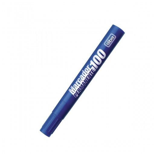 Marcador Permanente 100 Azul