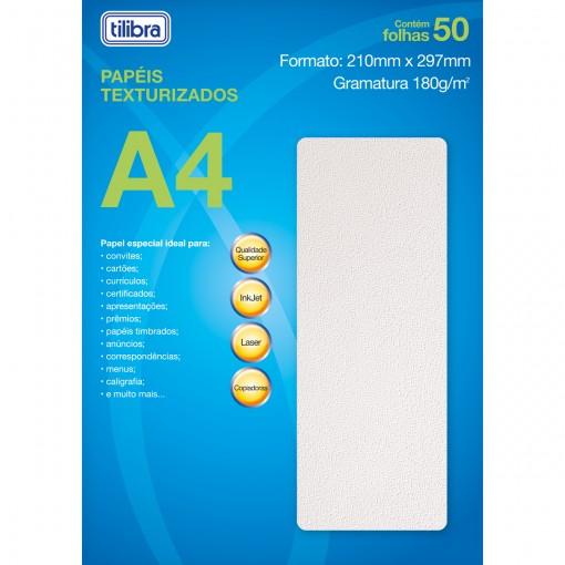 Papel A4 Chapisco Branco 180g