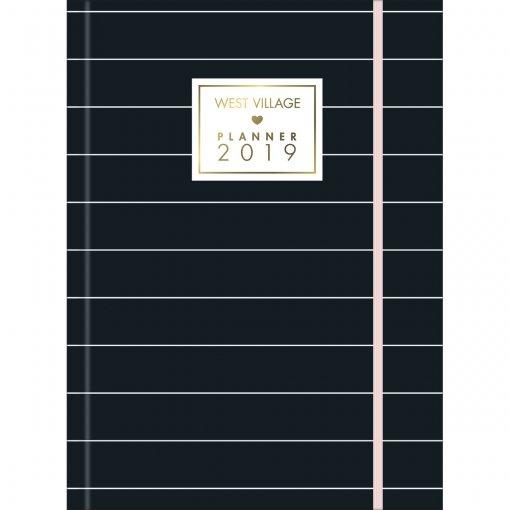 Planner Costurado West Village 2019 - Sortido