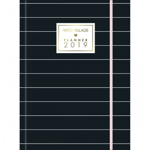 Planner Costurado West Village 2019 - Sortido