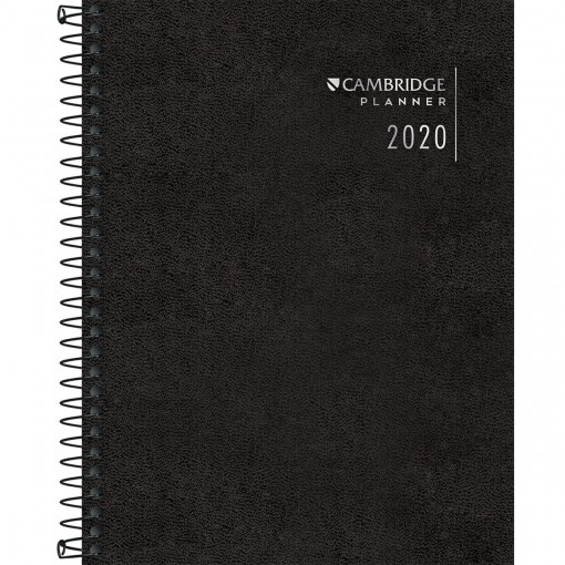 Planner Espiral Cambridge 2020