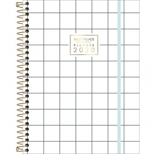 Planner Espiral Grande West Village 2020 - Sortido