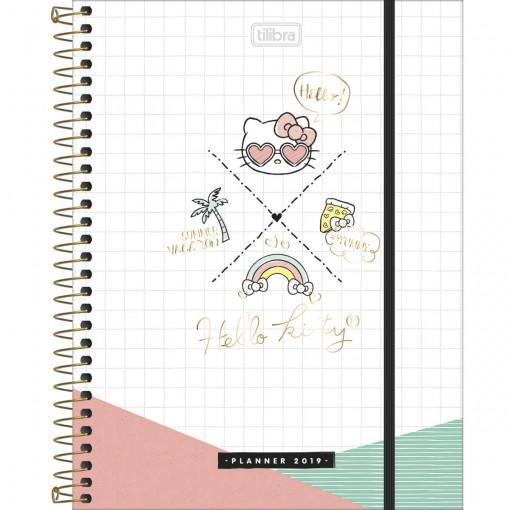 Planner Espiral Hello Kitty 2019