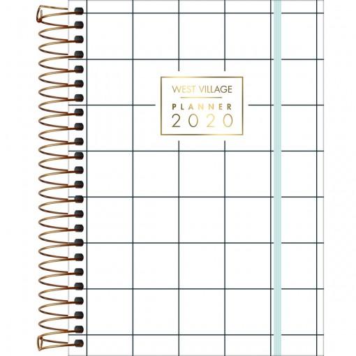 Planner Espiral West Village 2020 - Sortido