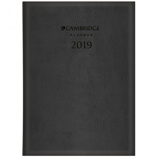 Planner Executivo Costurado Cambridge Extra 2019