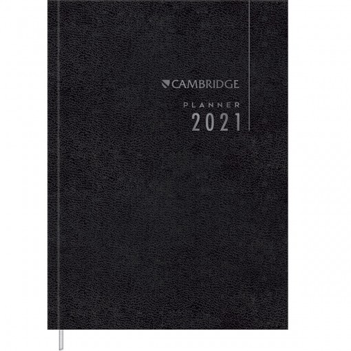 Planner Executivo Costurado Cambridge Set 2021