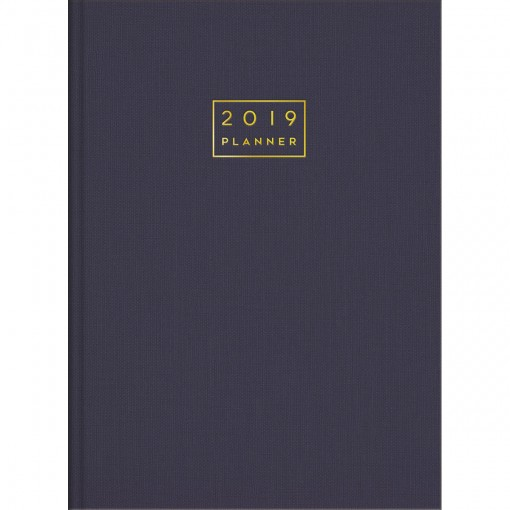 Planner Executivo Costurado Lume 2019 - Sortido