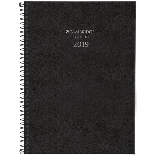 Planner Executivo Espiral Cambridge 2019