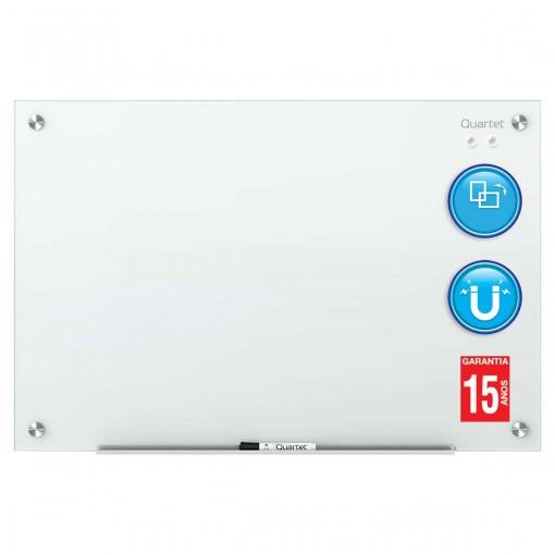 Quadro Branco Magnético Vidro 90x60cm