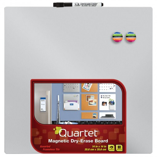 Quadro Colorido Magnético 36x36cm Cores Sortidas