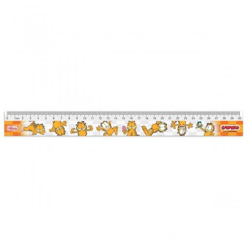 Régua em Poliestireno 30cm Garfield