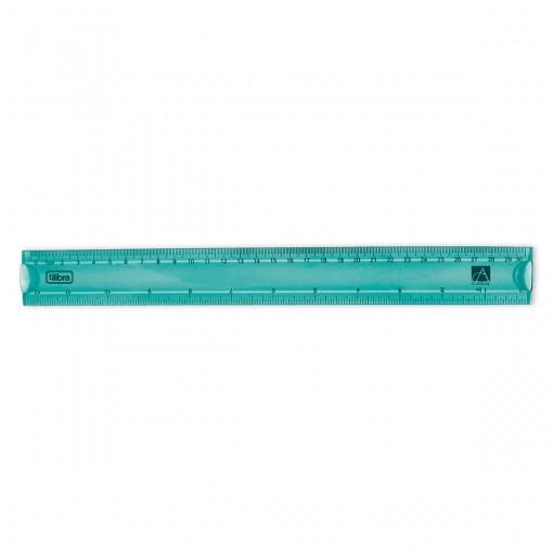 Régua Flexível 30cm Académie Aqua