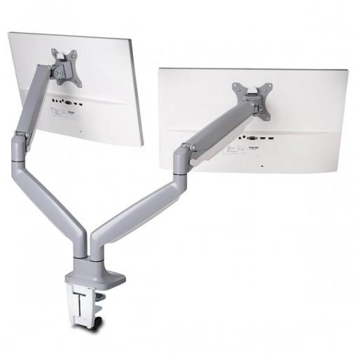 Suporte de Mesa Ajustável para Dois Monitores - Sistema SmartFit