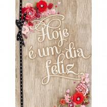 Imagem - Cartão Handmade Beauty Aniversário Estampa Dia Feliz- Grafon's