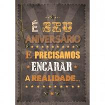 Imagem - Cartão Handmade Beauty Aniversário Estampa Realidade- Grafon's