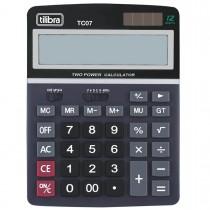 Imagem - Calculadora de Mesa 12 Dígitos Grande TC07 Preta