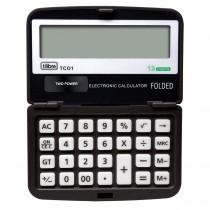 Imagem - Calculadora de Bolso 12 Dígitos Pequena TC01 Preta