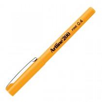 Imagem - Caneta Hidrográfica 0.4mm EK-200 Artline Amarelo