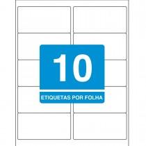 Imagem - Etiqueta Adesiva Inkjet/Laser Carta 50,8mmx101,6mm TB6283 250 Unidades